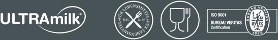 Logotipos RAL, alimentario e ISO.