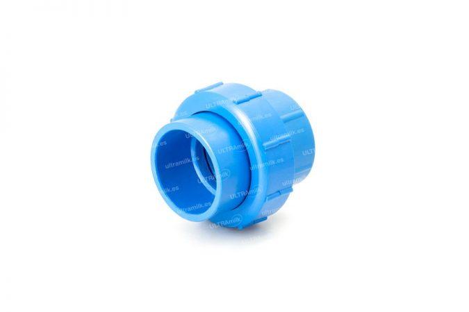 Enlace de unión de PCV. Para tubería Ø75 y Ø90 mm.