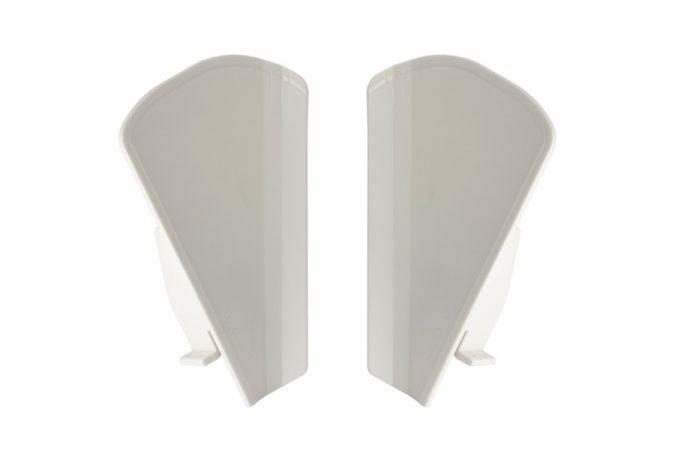 Escamas plegadas adaptables a Alma 530386 y 500308 ALM-306-IP: Escama izquierda (530386). ALM-305-DP: Escama derecha (500308).