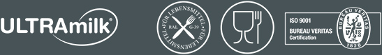 Logotipos RAL, alimentario e ISO.