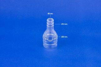 Visor de leche transparente adaptable a Manus.