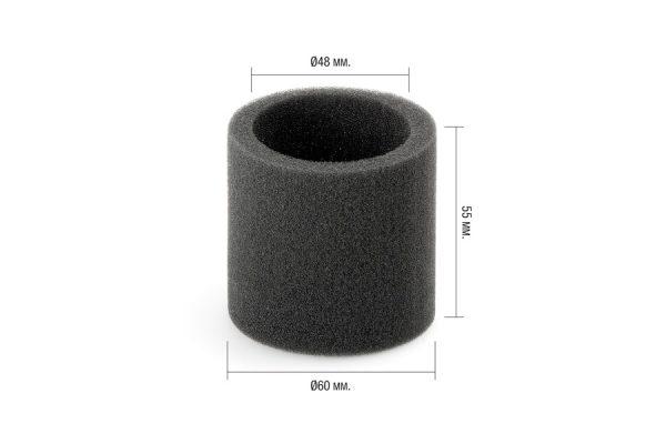 Filtro esponja adaptable a regulador de vacío DeLaval VRS (967989-01). Bolsa de 2 unidades.