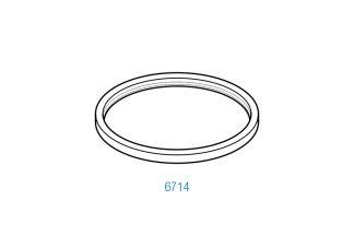 Junta exterior adaptable a colector DeLaval Harmony (Antiguo) Adaptable a: 989398-01